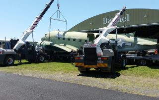 Plane moving CabCranes - Brisbane Crane Hire