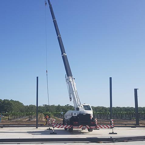 12 Tonne CabCranes - Brisbane Crane Hire
