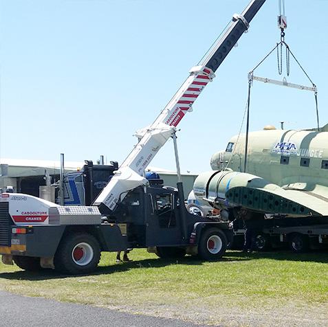 20 Tonne CabCranes - Brisbane Crane Hire