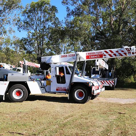22 Tonne CabCranes - Brisbane Crane Hire