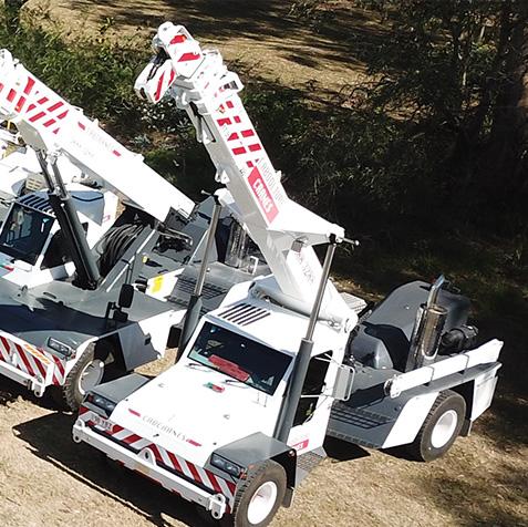 25 Tonne - CabCranes - Brisbane Crane Hire
