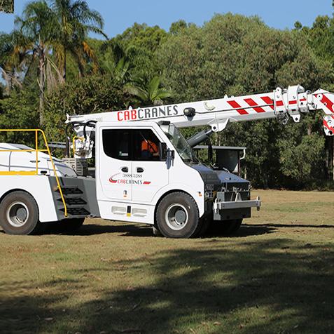 25 Tonne Tidd - CabCranes - Brisbane Crane Hire