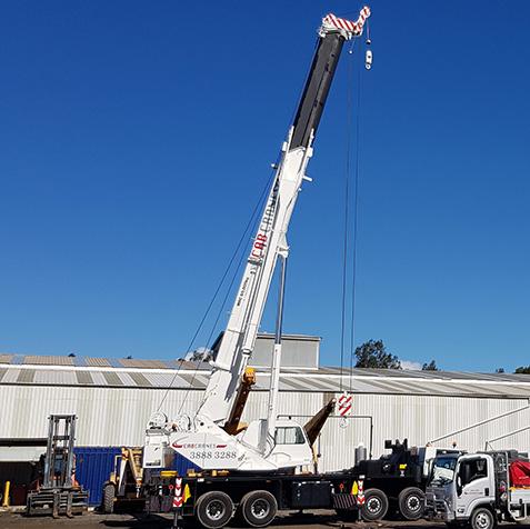 60 Tonne - CabCranes - Brisbane Crane Hire