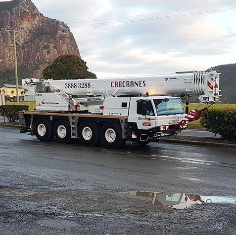 70 Tonne - CabCranes - Brisbane Crane Hire